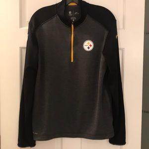 Pittsburgh Steelers Nike Dri-Fit 1/4 Zip Pullover